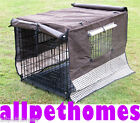 """COLLAPSIBLE DOG CRATE CANVAS COVER 48"""" XXLARGE"""