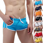 New Men's Swimwear Hot Sexy Boxers Swimming Trunks Swim Shorts Beach Pockets