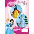 Misses Snow White & Cinderella Disney  Simplicity Sewing Patterns 2813