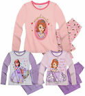 Girls Princess Sofia The First Pyjamas Kids Disney Pjs Nightwear New Age 2-8 yrs