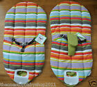 Mamas Papas MAGIC ASTRO BOUNCER BABYPLAY STRIPE SEAT COVER & HARNESS New