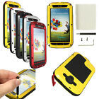 Aluminum Metal Gorilla Glass Shock Waterproof Case For Samsung Galaxy S3 I9300