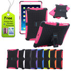 For iPad Air 5 Military Heavy Duty Rugged Armor Shockproof Stand Hard Case Cover