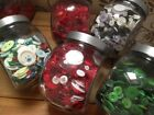 ASSORTED BUTTONS - CHRISTMAS Mixes incl. Monochrome - Buy 3 bags, Get 1 FREE!