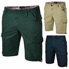 Mens Cargo Shorts Combat Chino Bonds Summer Cotton Bottom Knee length New