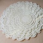 200pcs White Round Paper Lace Doilies for CardMaking Scrapbooking Decorations