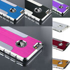 """Luxury Brushed Aluminum Hard Back Case Cover Protector For iphone 6(4.7"""")/6 Plus"""