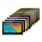 7 Quad Core Google Android 4.4 KitKat 8GB HD Tablet PC Dual Camera WiFi 3D Game