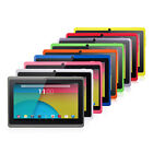 7 Multi-Color Quad Core Android 4.4 KitKat 8GB HD Tablet PC Dual Camera WiFi
