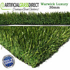 30MM WARWICK LUXURY ARTIFICIAL GRASS QUALITY ASTRO REALISTIC NATURAL GARDEN TURF