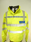 SECURITY Hi Vis  Gore-Tex Waterproof Blouson Bomber Hood Jacket Ex Police ref02