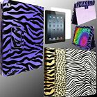 Case for Apple iPAD 3 III New 3rd Gen Folio Cover Holster Leather Generation QW