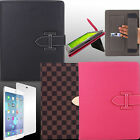 Case for Apple iPad Air 5 Folio Cover BCYK Holster Leather Screen