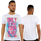 Do What Your Heart Tells Print Fitted T-Shirt Urban life By Monkey Business
