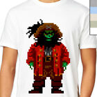 LECHUCK T-Shirt. Secret of Monkey Island. Pixelated Retro Rare Gamer Le Chuck