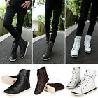 X260 Men's Temperate Lace Up Casual Boots Shoes New Weather Combat Hiker Boots