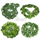 24PCS Artificial Ivy Leaf Garland Plant Vine Fake Foliage Flowers Home Decor