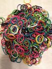 WonderLoom Refill 600 Rubber Bands with C Clips Pkg Bracelet Making Wonder Loom