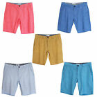New Men's Linen Cotton Blend Shorts Walk Shorts Regular Fit SZ 31 32 33 34 35 36