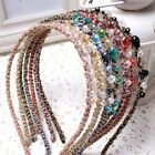 Women Lady Hot Fashion Metal Rhinestone Covered Headband Headwear Hair Band Gift