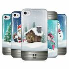 HEAD CASE CHRISTMAS IN JARS GEL BACK CASE COVER FOR APPLE iPHONE 4S