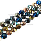 144 Swarovski 2058/2088 crystal flatbacks rhinestones METALLIC Colors Mix