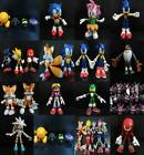 LOT SONIC THE HEDGEHOG KNUCKLES JET THE HAWK Tails Silver Morphlite AMY spinner