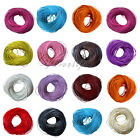 Wholesale 3M/10M Colorful Real Leather Cord String For Bracelet Necklace 2.0 mm