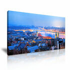 CITYSCAPE Europe Hungary 2 1-21 Canvas Framed Printed Wall Art ~ More Size