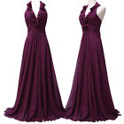 FREE SHIP NEW Chiffon Ball Gown Evening Prom Pageant Mother of Bride Party Dress