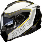 Shox Assault Tracer Full Face Inner Sun Visor Motorcycle Motorbike Crash Helmet
