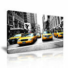 New York CITYSCAPE USA 9 1-21 Canvas Framed Printed Wall Art ~ More Size
