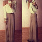1PC Womens Fashion Elegant Maxi Dress Cocktail Ball Gown Exposed Dress Thrifty