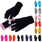 Women Men Touch Screen Phone Tablet Full Finger Warm Mittens Gloves 15 Colors