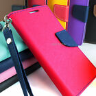 For LG Optimus Exceed 2 VS450PP Hybrid PU Leather Flip Folio Wallet Pouch Case