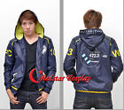 Anime Psycho-Pass ken sa tsu kan Cosplay Hoodie Coat Casual Jacket Sweatshirts