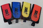 NEW NEOPRENE VELCRO TEAM COLOUR ARMBANDS-BLUE-RED-YELLOW-ORANGE-AIRSOFT-GAME-ARM