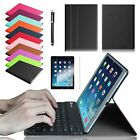 Ultra Thin Bluetooth Keyboard Slim Leather Cover Case Protector For iPad Air 2