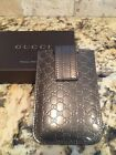 Gucci iPhone touch 4 4/S cell cases leather NWB Italy 100% auth $185 SEND OFFER