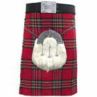 Mens Tartanista Deluxe Royal Stewart Tartan Scottish 16oz 8 Yard Kilt 30-54