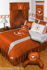Texas Longhorns Bed in a Bag Curtains Valance Twin to King Size