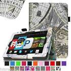 Leather Case Cover Wake/Sleep For Amazon Kindle Fire HD 6 Tablet (2014 Release)