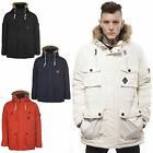 Mens Jacket FLY53 Winterton Parka Coat Size S M L XL XXL