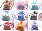 100 Organza Gift Bag Jewelry Packing Pouch Wedding Favor Gift Bags Any Color