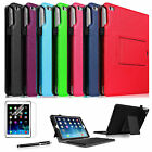 For 2014 iPad Air 2 Detachable Bluetooth Keyboard Leather Case Cover/Film/Stylus