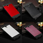 1PC Brushed Aluminium Metal Case Cover for Samsung Galaxy S4 i9500 Salable