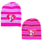 UK Official Disney Frozen Girls Winter Hat Pink Age 5-8