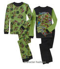 TEENAGE MUTANT NINJA TURTLES 4 6 8 10 Boys PAJAMAS PJS Shirt Pants Long Sleeve