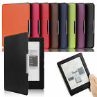 ULTRA THIN PU LEATHER CASE COVER WITH AUTO WAKE/SLEEP SUPPORT FOR KOBO AURA H2O