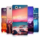 HEAD CASE DESIGNS WORDS TO LIVE BY 4 CASE COVER FOR SONY XPERIA Z3 COMPACT D5833